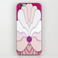 Pink iPhone & iPod Skin by Elena Indolfi #Society6