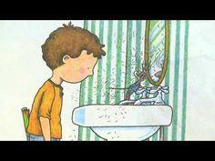 Si le das una galletita a un ratón. Classic book read by native Spanish speaker, with illustrations.