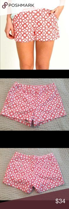 Annie Griffin shorts NWT! Size 8 Annie Griffin trellis Gracie short, size 8. New with tags. Perfect! Annie Griffin Shorts