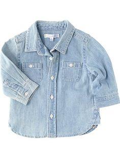 100% moda y 100% denim con esta camisa tejana by Kiabi