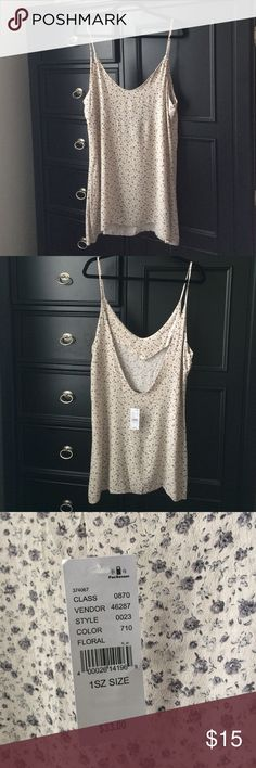Brandy Melville Floral tank dress Floral tank dress, one size but similar to a medium Brandy Melville Dresses