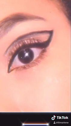 Makeup Eye Looks, Eye Makeup Art, No Eyeliner Makeup, Makeup For Brown Eyes, 60s Makeup, Makeup Inspo, Makeup Inspiration, Kali Uchis, Makeup Life Hacks