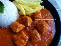 Raspberrybrunette: Skvelé kuracie mäso Poultry, Raspberry, Curry, Food And Drink, Beef, Chicken, Cooking, Ethnic Recipes, Foods
