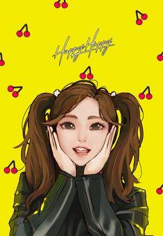 Twice Fanart, Twice Once, Im Nayeon, Kpop Fanart, Fancy, Fan Art, Queen, Girls, Anime