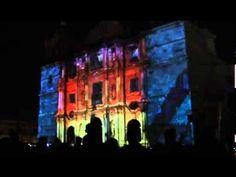 Luces de navidad en Catedral de Oaxaca 2011 Parte 3 de 3 - YouTube