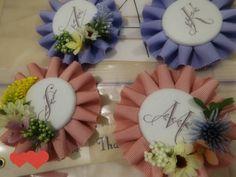 DIY*お花ロゼット(ほぼ)完成♡♡♡ の画像|はるはなよめ