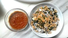 Okra Sambal belachan  Ingredients Fresh chili,belachan .lime,sauce for the okra vinegar sugar to taste.