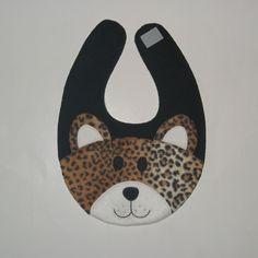 Leopard Bib - Infant Baby Animal Bib