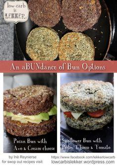 Bun sandwich ideas wheat free