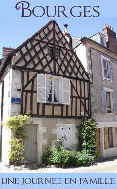 Une journée entière pour une première découverte de la ville de Bourges dans le Cher.