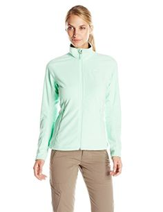 adidas Outdoor Womens Hiking Reachout Fleece Jacket Frozen Green Medium ** Click on the image for additional details.