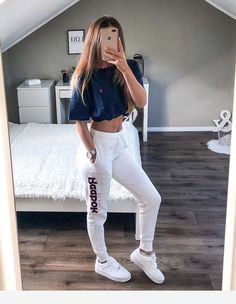 21 cute sporty outfits for school 25 housemoes Cu . - 21 cute sporty outfits for school 25 housemoes Cute lazy outfits for school Alb - Teen Fashion Outfits, Mode Outfits, Dance Outfits, Look Fashion, Outfits For Teens, Summer Outfits, Fashion Women, Fashion Black, Teenage Girls Fashion