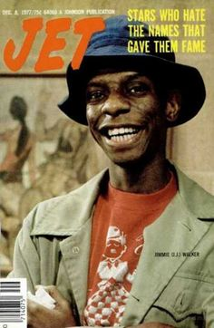 Jimmie Walker as 'J.' in 'Good Times', on the cover of Jet magazine, December Jet Magazine, Black Magazine, Good Times Tv Show, Ralph Carter, Famous Black People, Black Tv Shows, Black King And Queen, Vintage Black Glamour, Black Celebrities