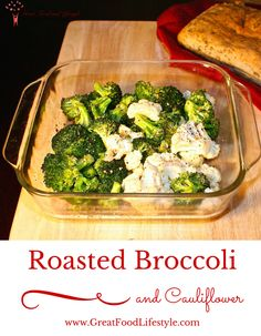 Roasted Broccoli and Cauliflower is a healthy, delicious, easy addition to any meal. I lost 8 sizes and reversed Type 2 Diabetes through diet and lifestyle. For more healthy recipes follow me on Pinterest and subscribe to my blog at this link.
