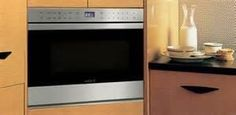 Wolf Built-In Microwaves are available in drawer, drop-down door and side-swing microwave models, integrating beautifully into your kitchen design. Built In Microwave, Microwave Oven, Wolf Appliances, Kitchen Appliances, Discount Appliances, Modern Condo, Kitchen Showroom, Kitchen And Bath, Cool Kitchens