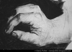 Sketch of a Hand, by Ciana Pullen http://cianapullen.blogspot.de/2015/06/sketch-of-hand-by-ciana-pullen.html