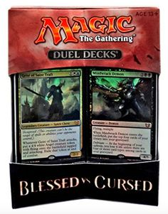 MTG Magic the Gathering - Duel Decks: Blessed vs Cursed - Magic The Gathering, Legendary Creature, Ready To Play, Wizards Of The Coast, Deck Of Cards, Mtg, Blessed, Decks, Ebay