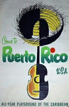 Puerto Rico • USA #tourism #poster / for more inspiration visit http://pinterest.com/franpestel/boards/