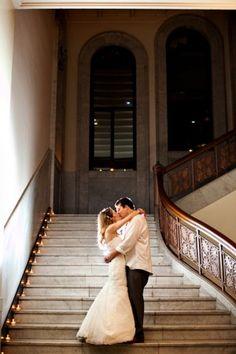 Lesley & Matt, Newberry Library Chicago Wedding ©2012 Jennifer Kathryn Photography