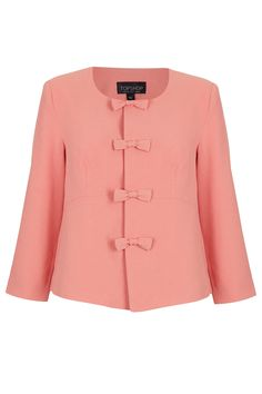We're obsessed with bold pink right now! #TopshopPromQueen #topshop #pink #bows