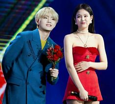 South Korea News, Stefan William, Blackpink And Bts, Korean Name, Kpop, Blackpink Jennie, Cute Couples, Taehyung, One Shoulder