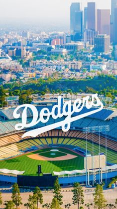 Backgrounds — wallpapers-okay: LA Dodgers logo /requested by...