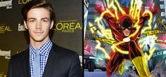 Grant Gustin cast in The Flash on Arrow. Click to read. http://film-book.com/arrow-grant-gustin-cast-as-the-flash-in-the-cws-superhero-tv-show/ #tv #arrow #theflash #GrantGustin