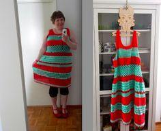 Virkattu mekko, 2013