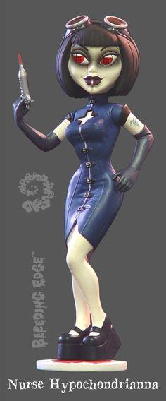 Energetic Begoths Series 4 Joni Rotten Fashion, Character, Play Dolls