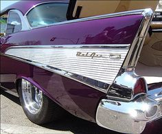 Beautiful 1957 Chevy Bel Air by Bob the Real Deal, via Flickr