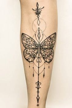 Beautiful And Meaningful Butterfly Tattoo Guide Mandala Tattoo – Fashion Tattoos Pretty Tattoos, Unique Tattoos, New Tattoos, Body Art Tattoos, Small Tattoos, Cool Tattoos, Gorgeous Tattoos, Tatoos, Side Tattoos