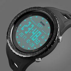 7611bb9f1302 New SKMEI Watch Sport Quartz Wrist Men Analog Digital Rubber Waterproof  Military
