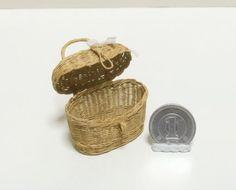 シルバニア ブライス ハンドメイド ミニチュア  ミニチュアバスケット  バスケット  ドールハウス miniature  dollhouse  miniaturebasket  momoko  リカちゃん