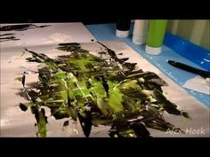 Modern Abstract Art - Speed Painting - YouTube