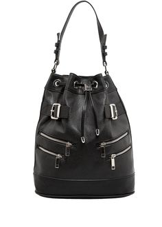 MANGO - Zip-detail bucket bag #FW14
