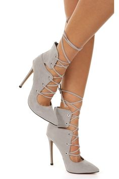 FINAL SALE- Gray How To Adult Heels | WindsorCloud