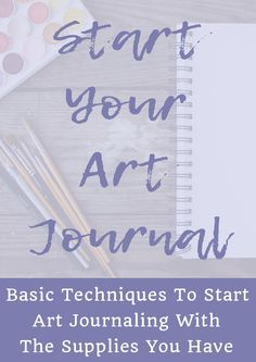 Do you want to get into art journaling but have no idea where to begin? Let me help you with my course Start Your Art Journal!