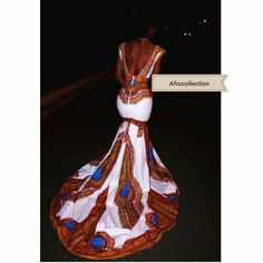 Angelika/african long gown by AFROCOLLECTION2015 on Etsy