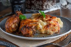 Tandoori Chicken, Baked Potato, Potatoes, Meat, Baking, Ethnic Recipes, Desserts, Dire, Food