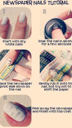 Paper nail