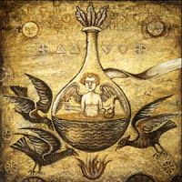 Alchemy: An Allegorical Map for the Transmutation of Consciousness – PARALLAX: Tarot, Homunculus, Alchemy Art, Arte Tribal, Magnum Opus, Mystique, Medieval Art, Illuminated Manuscript, Medieval Manuscript