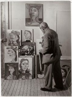 pablo picasso. the m