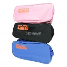 $3.80 Portable Waterproof Shoe Travel Storage Zip Bag Visual Breathable Tote bag