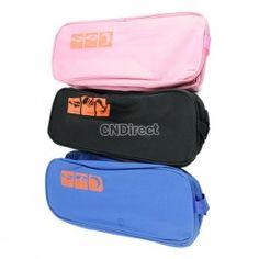 $3.80 Portable Waterproof Shoe Travel Storage Zip Bag Visual Breathable Tote bag