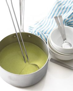 Cream of Broccoli Soup - This soup is super creamy in texture, but it contains very little actual cream.