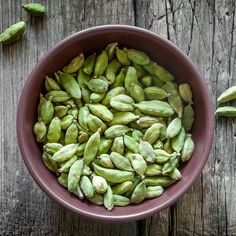 Green Cardamom    Ground Cardamom has a strong, sweet, pungent flavor with hints of lemon, mint and eucalyptus.