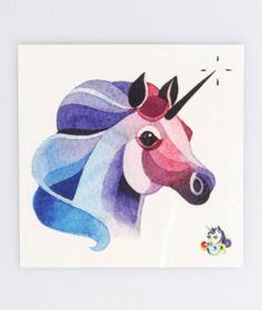 Переводная татуировка - Sasha Unisex (Unicorn)