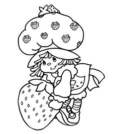 Strawberry Shortcake (vintage & current) Coloring Pages FREE