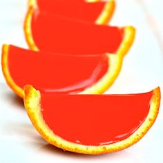 Blood Orange Mimosa Jello Shots    Your favorite breakfast libation in jello shot form!  Ingredients  5-10 blood oranges  1 cup freshly squeezed blood orange juice  2 packets unflavored Knox gelatin  1 tablespoon sugar  3/4 cup champagne  1/4 cup Grand Marnier