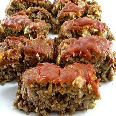 Skinny Meatloaf SmartPoints 6 - weight watchers recipes